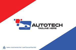 Car Tech Logo Template