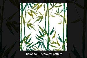 bamboo - seamless pattern