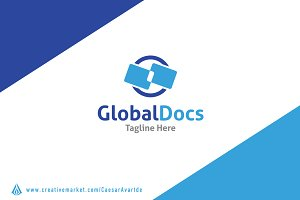 Global Docs Logo Template
