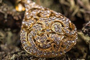 Goldplated pendant