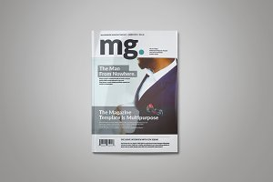 MG Magazine Template