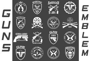 Guns emblem