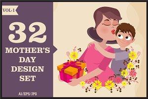 Mother's Day Design Sets Vol - 1