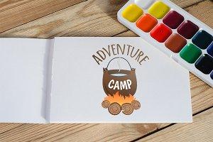 Emblem adventure camp.