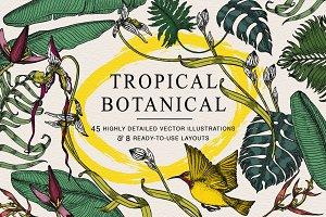 Tropical Botanical Collection