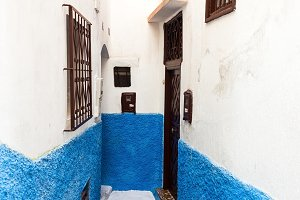Medina, old part of Tangier, Morocco