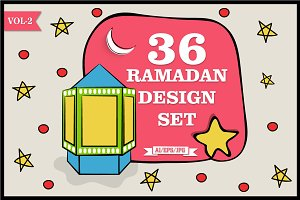 Ramadan Kareem Design Set Vol - 2
