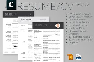 Professional & Clean CV-Resume