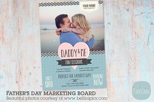 IF002 Father's Day Marketing Board