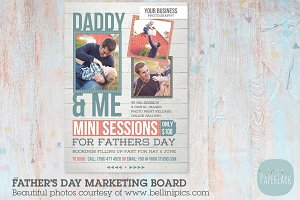 IF001 Father's Day Marketing Board