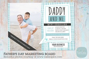 IF003 Father's Day Marketing Board