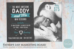 IF013 Father's Day Marketing Board