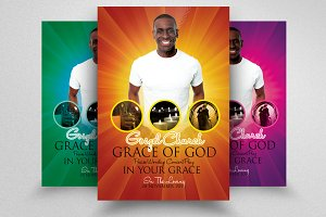 Man of God Church Flyer