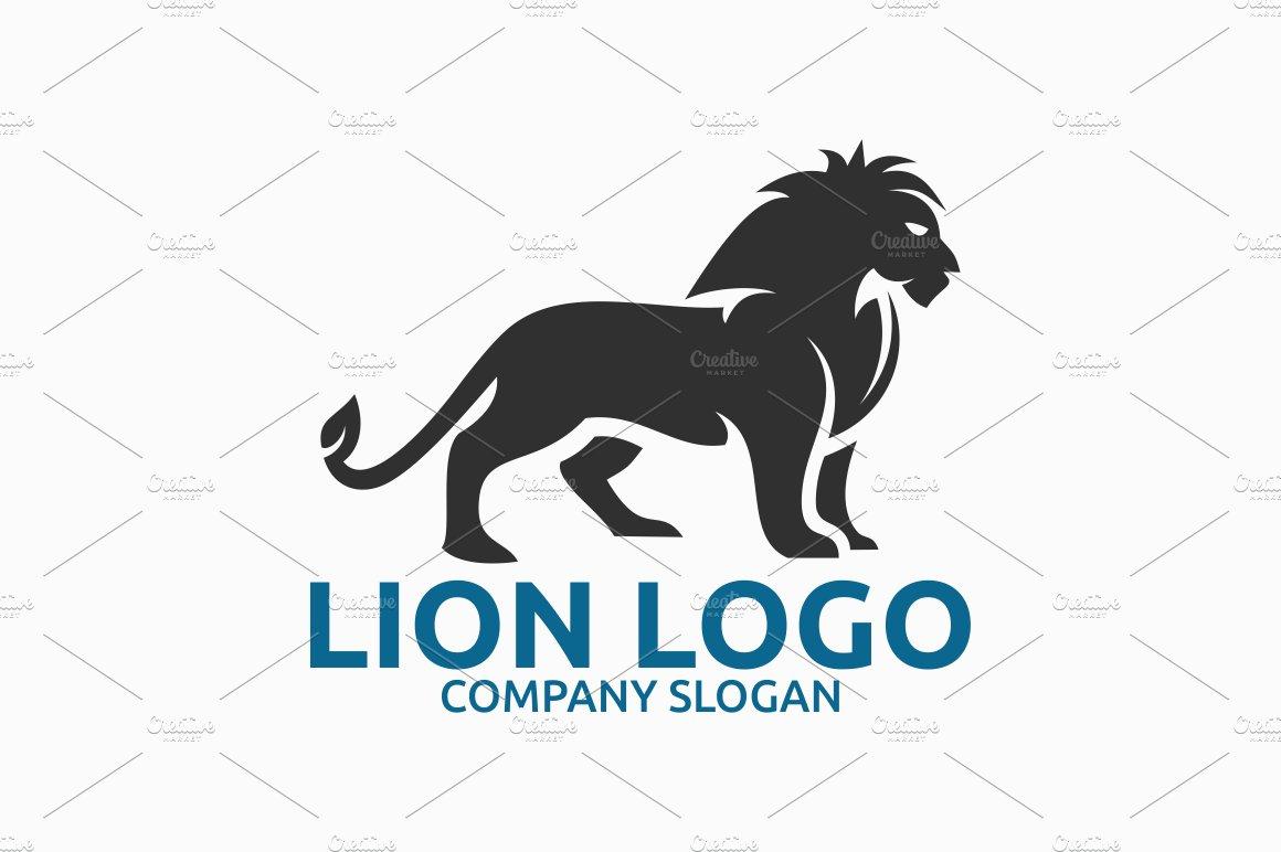 lion logo logo templates creative market