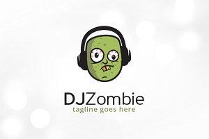 DJ Zombie Logo Template