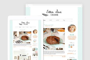Cute WordPress Blog Theme - Ellen