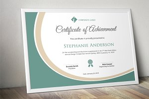 modern certificate template docx stationery templates creative