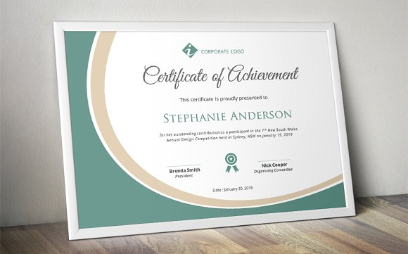 Vintage Marriage Certificate Design Template In Psd Word: 50 Certificate Templates To Design Stunning Awards
