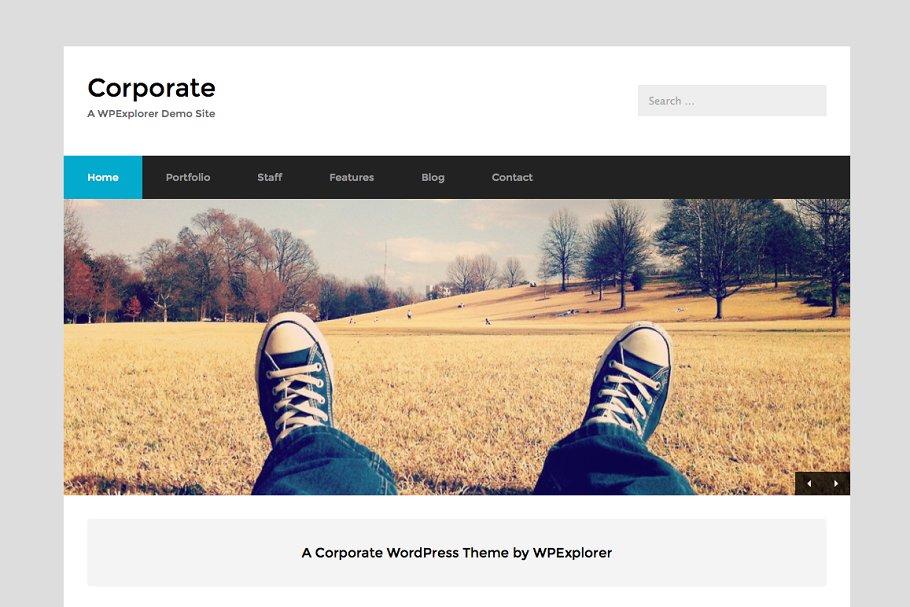 10 Fabulous Corporate Website Templates