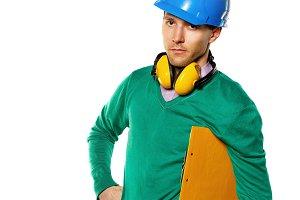 Construction worker hold checklist