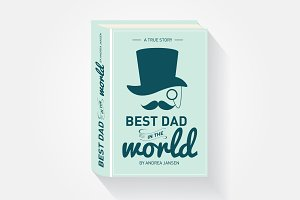 father's day storybook greeting card