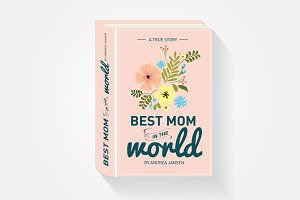 mother's day storybook greeting card