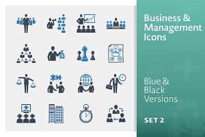 Business & Management Icons - Set 2