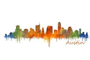 Austin Texas, Cityscape skyline V2