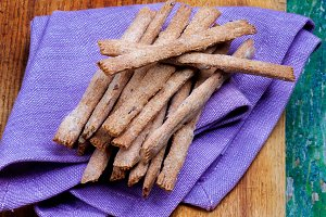 Crunchy Bread Sticks