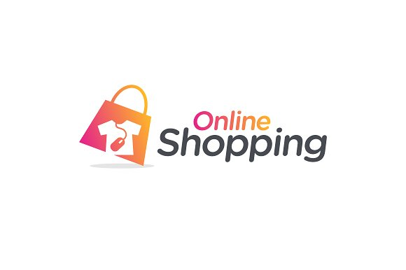Online fashion shopping logo templates on creative market for Online websites for shopping