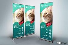 Pet Shop Roll-Up Banner - v38