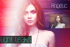 (50% off) 8 Light Leaks PS Actions
