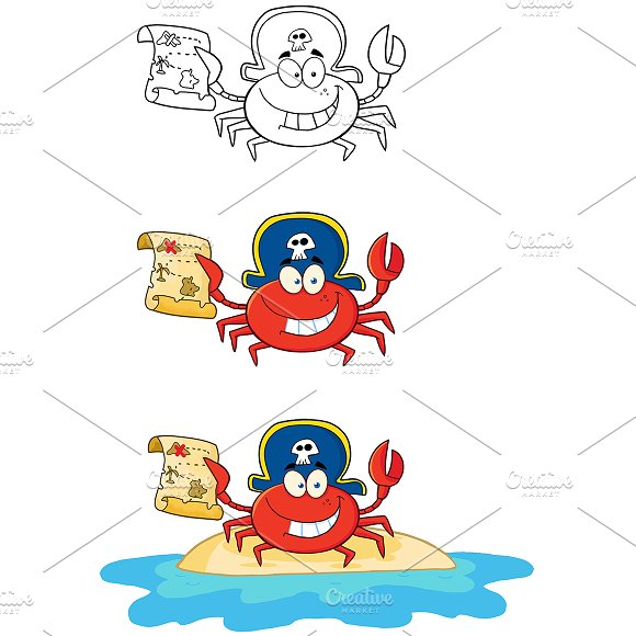 Crab Pirate Collection