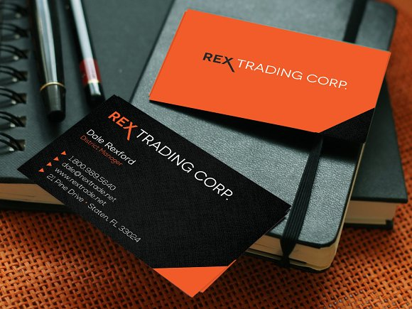 Trading Company Business Card Business Card Templates Creative