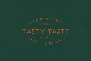 TASTY PASTE-HAND DRAWN FONT