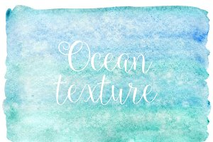 Water watercolor texture