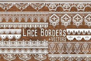 Vector Lace Border Clipart Lace