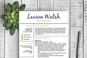 Resume Template - Lauren