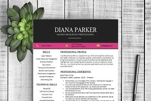 Resume & Cover Letter - Diana