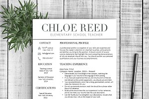 Resume & Cover Letter - Chloe