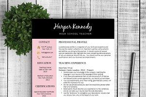 Resume & Cover Letter - Harper