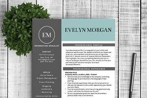 Resume & Cover Letter - Evelyn