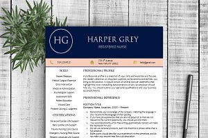 Resume Template - Harper G