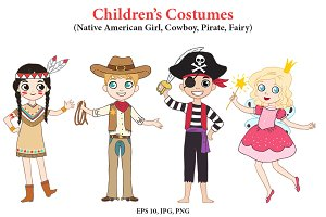 Children's Costumes for party!