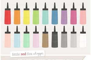 Hair Dye Bottle Clipart