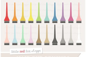 Hair Dye Brushes