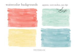 Watercolor Stroke Background