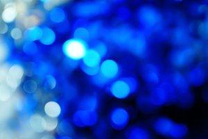 blue bokeh vivid color