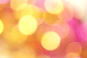 pink gold bokeh vivid color