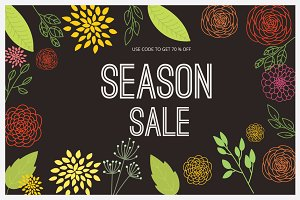 "Season Sale "" Summer & Spring """
